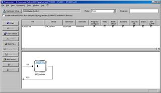 FPGAへの書き込み(sofファイル、RUNモード時)