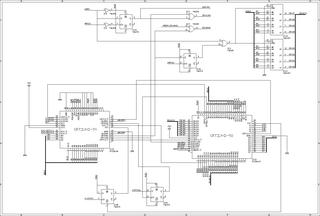 mk2回路図(CRTコントローラ)