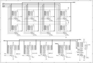 mk2回路図(DRAM/ROM)