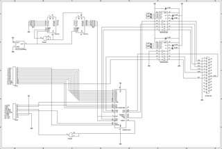 RS232Cボード回路図2