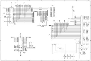 mk2回路図(CPU/拡張コネクタ/FDD)