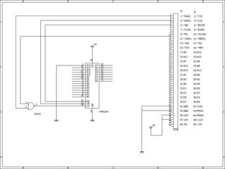 拡張RAM回路図
