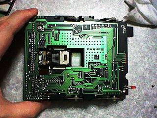 FM-77AV20ドライブ内部