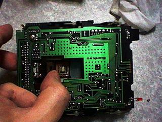FM-77AV20ドライブ内部2