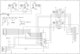 RS232Cボード回路図そ  の1