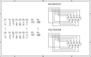 170409_01_メガドラ6ボタン回路図と変更点.png